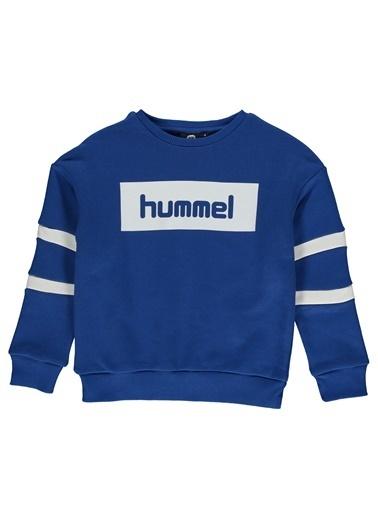 Hummel Çocuk Sweatshirt Paris 920685-4247 Mavi
